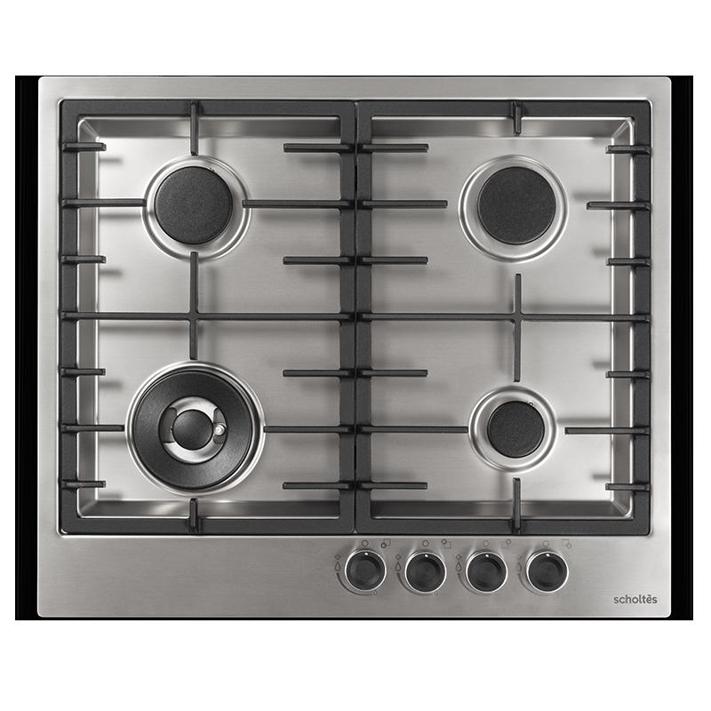 SOTE1630X - Table de cuisson gaz 60 cm