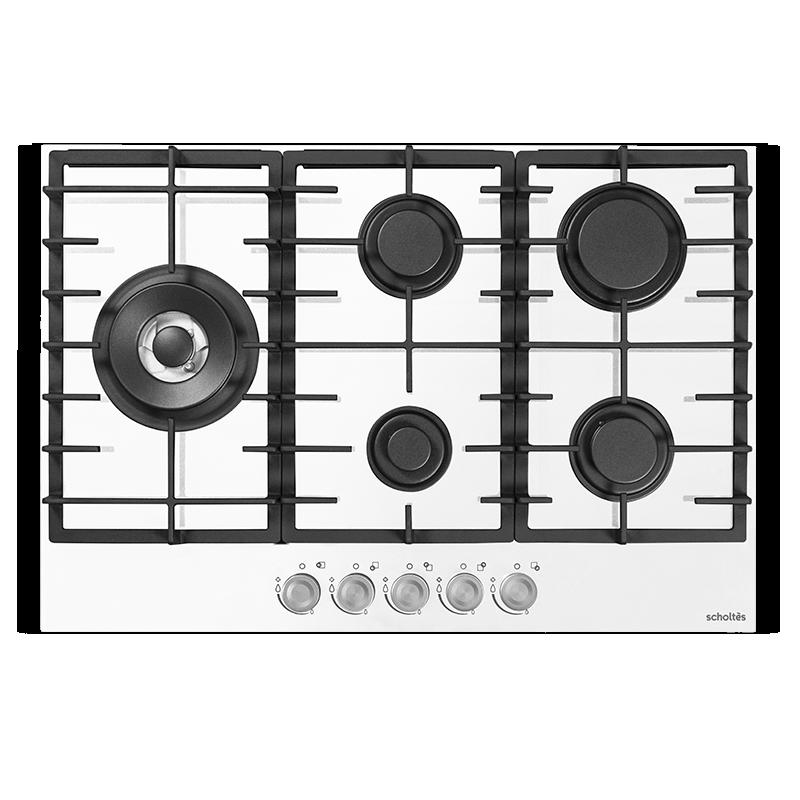 SOTG1730W - Table de cuisson gaz 75 cm